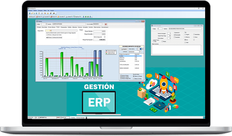 Programa ERP de Ontisoft, empresa informática y diseño web en Ontinyent